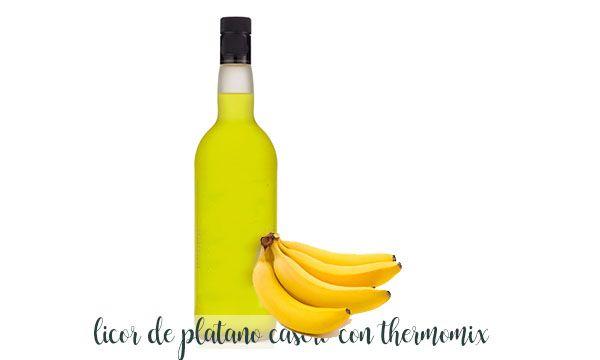 Likier bananowy z termomiksem