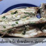 Labraks w stylu Donostiarra z Thermomixem