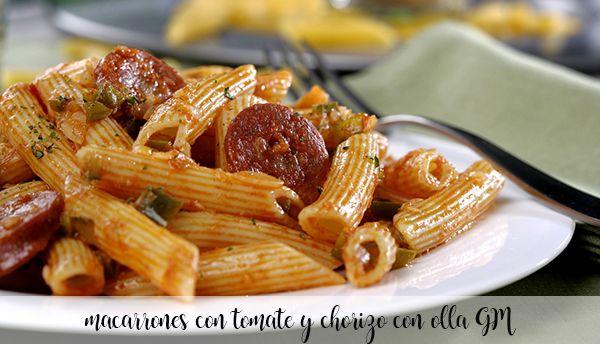 Makaron z Pomidorem i Chorizo z GM Pot
