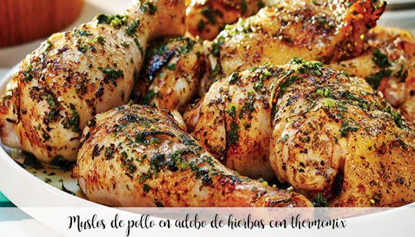 Uda z kurczaka w marynacie ziołowej z termomiksem