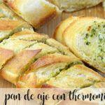 Chleb czosnkowo-serowy z Thermomixem