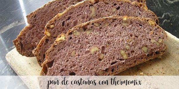 Chleb kasztanowo-orzechowy z Thermomixem