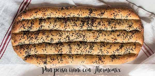 Irański chleb perski z Thermomixem