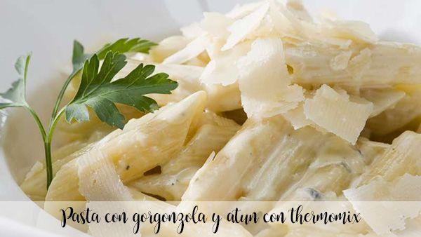 Makaron z Gorgonzolą i Tuńczykiem z Thermomixem