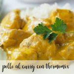 Curry drobiowe z Thermomixem