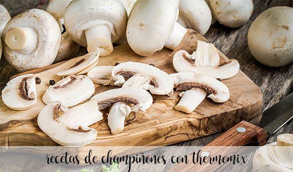 40 przepisów na grzyby z termomiksem