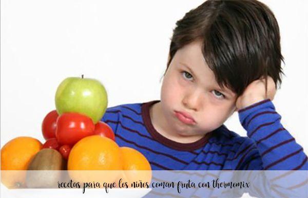 25 przepisów dla dzieci na jedzenie owoców z termomiksem