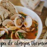 Zupa z małży z Thermomixem