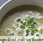zupa z zielonej kapusty z termomiksem