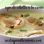 Zupa cebulowa ze śmietaną z termomiksem