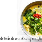 Zupa z mleka kokosowego z curry z Thermomixem