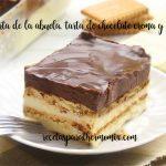 Ciasto czekoladowo-biskwitowe, tort babci