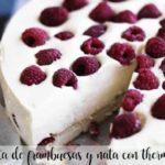 Ciasto malinowo-śmietankowe z termomiksem