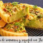 Ciasto Romanescu i Roquefort z Thermomixem