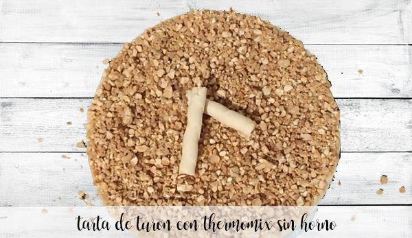 Ciasto nugatowe bez piekarnika z termomiksem