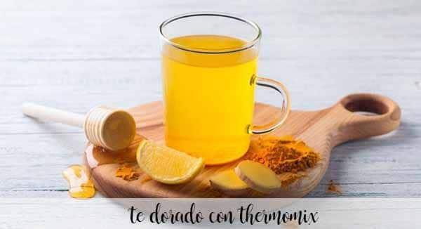 Złota herbata z Thermomixem