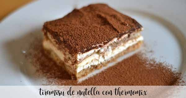 Nutella Tiramisu z Thermomixem