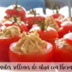 Pomidory faszerowane tuńczykiem z Thermomixem