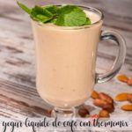 płynny jogurt kawowy z termomiksem