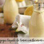 Jogurt cytrynowy w płynie z Thermomixem