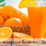 Sok pomarańczowy z termomiksem - Oranżada