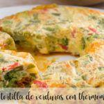 omlet warzywny z termomiksem