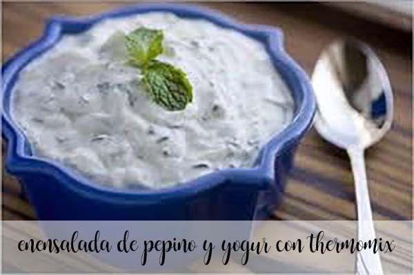 Sałatka ogórkowo-jogurtowa z Thermomixem
