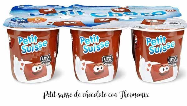 Czekolada Petit Suisse z Thermomixem