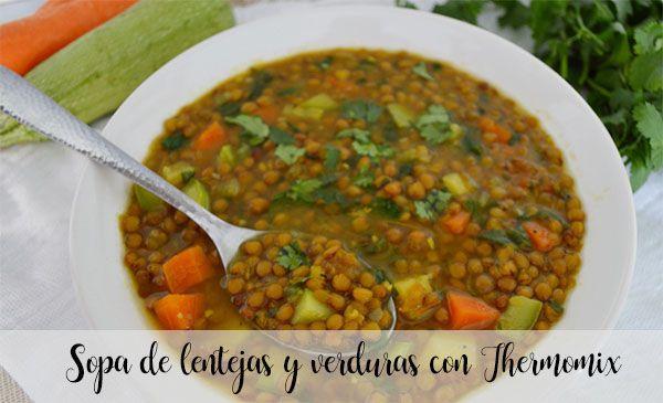 Zupa z soczewicy i warzyw z Thermomixem