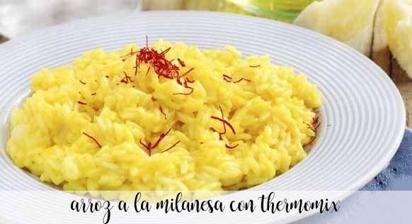 Ryż mediolański z Thermomixem