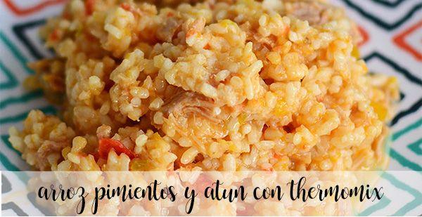 Ryż z Papryką i Tuńczykiem z Thermomixem
