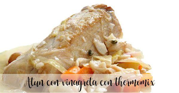 Tuńczyk w sosie winegret z Thermomixem