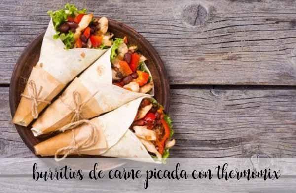 Burrito z mielonej wołowiny Thermomix