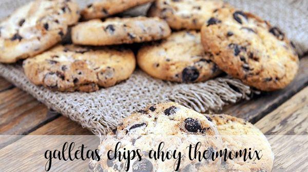 Chipsy Ahoy Thermomix Ciasteczka