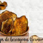 Chipsy z bakłażana z termomiksem
