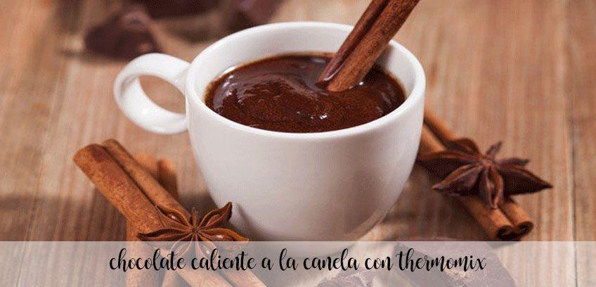 Gorąca czekolada cynamonowa z Thermomixem