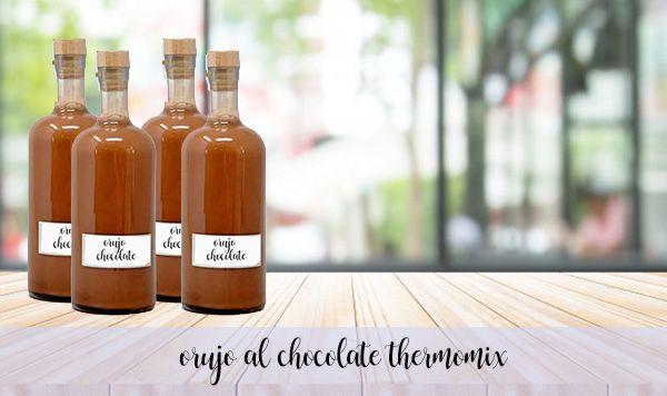 Likier z wytłoków czekoladowych z Thermomixem