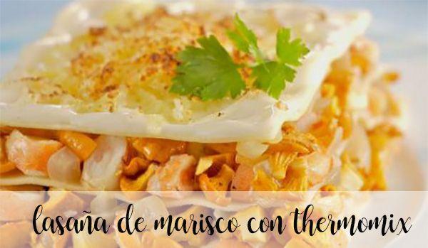 Thermomix lasagne z owocami morza