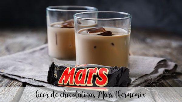 Likier Czekoladowy Mars z termomiksem
