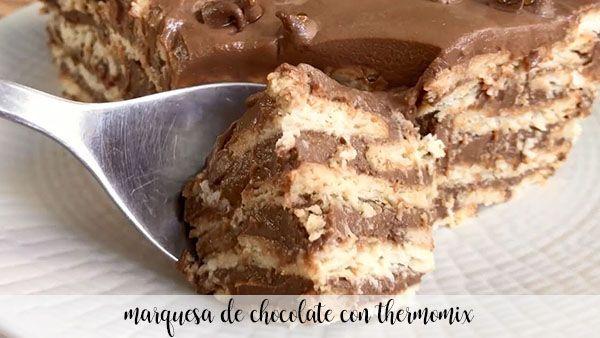 Markiza czekoladowa z Thermomixem