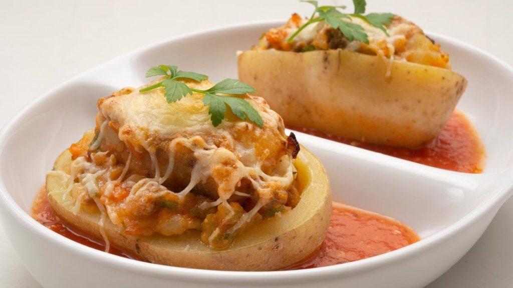Ziemniaki faszerowane mięsem na Thermomixie