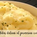 włoskie puree ziemniaczane z parmezanem z termomiksem
