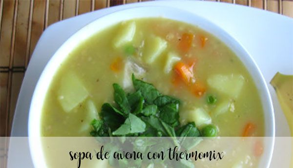 Zupa owsiana z Thermomixem