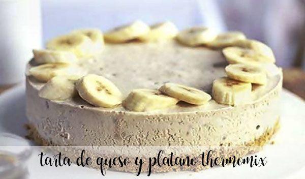 Ciasto serowo-bananowe z termomiksem