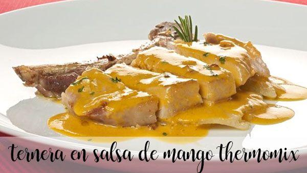 Wołowina z sosem mango Thermomix