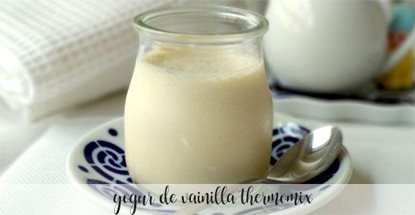 Jogurt waniliowy z Thermomixem