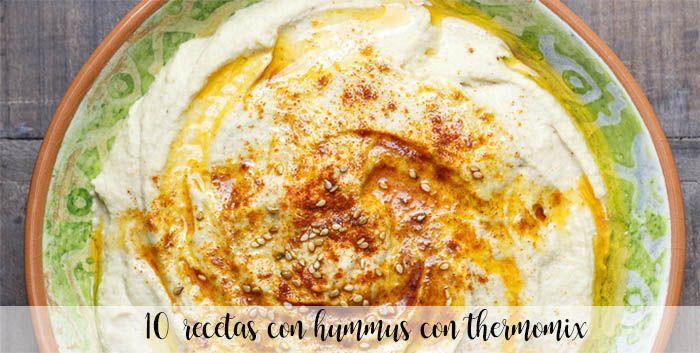 15 przepisów na Hummus z termomiksem