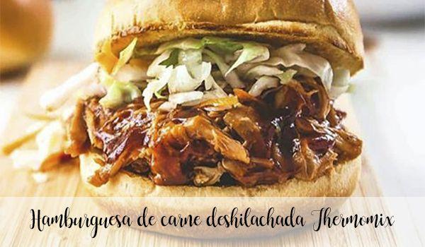 Szatkowany burger wołowy Thermomix