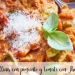 Tortellini z papryką i pomidorem z Thermomixem