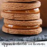 Alfajores czekoladowe z Thermomixem